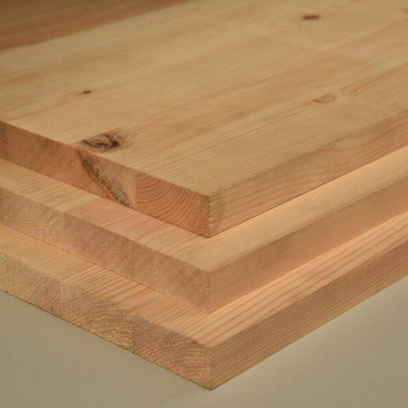 tableros alistonados de madera maciza de pino norte