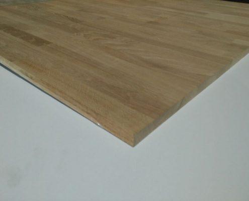 tableros alistonados de madera maciza de roble